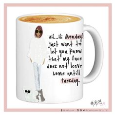 """FASHCOM on Instagram: """"Some Mondays are harder than others. That's why we need coffee ☕☕ • #monday #comic #story #fashion #morning #morningcoffee #fashioncomic #goodmorning #coffee"""""""