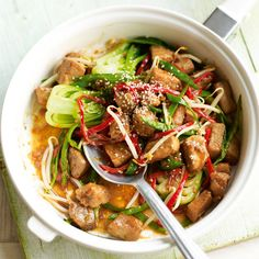 Bring the tastes of a Chinese takeaway to your home but save money and calories by cooking the dish yourself.