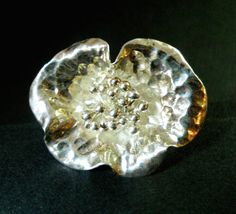 Vintage Sterling Silver Ring Flower Artisan by RenaissanceFair, $41.00