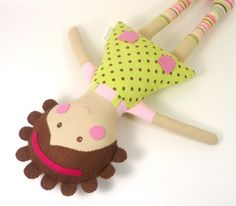 EcoFriendly Soft Fabric Cloth Doll for Girl  by CleoAndPoppy, $48.00