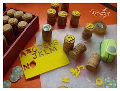 Kreattiva: Tutorial:  αλφάβητο για τα παιδιά , φέρνοντάς τους πιο κοντά στα γράμματα και αριθμούς σε ένα δημιουργικo