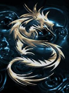blue dragon image puzzle