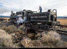 RailPictures.Net Photo: MELC 1 Mount Emily Lumber Co. Steam 3-Truck Shay at Prineville, Oregon by Kevin Madore