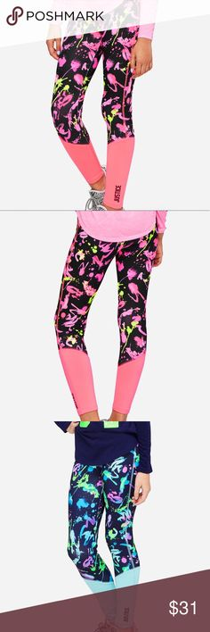0bcd0ce0fee ... stretch leggings Wide high waist band Breathable moisture-wicking  fabric to keep her comfy Bold graffiti inspired print Smoke and pet free  house They ...