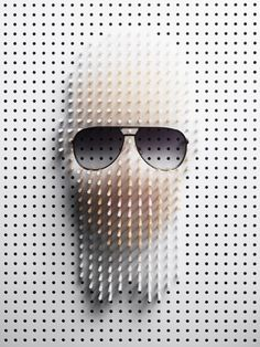 Pointillist Power #artwork http://www.pinterest.com/TheHitman14/art-weirdcool-%2B/
