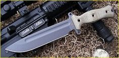 If I ever buy a survival knife, these are the ones recommended by Search and Rescue expert.