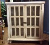 18 Panel Cabinet Antique White  SKU#:600-1003PT    Description:  $379.00
