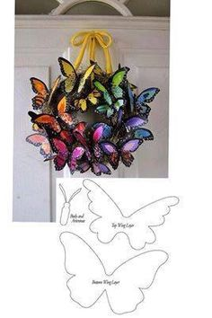 Tin Can Crafts, Easy Diy Crafts, Recycled Crafts, Paper Crafts, Spring Art Projects, Spring Crafts, Butterfly Crafts, Butterfly Art, Grave Decorations