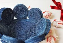 How to Make an Interesting Basket from Old Jeans – a free tutorial on the topic: DIY Projects ✓DIY ✓Steps-By-Step ✓With photos Macrame Projects, Crochet Projects, How To Make Snowflakes, Wire Wrapping Tutorial, Old Jeans, Wire Weaving, Textile Art, Easter Eggs, Projects To Try