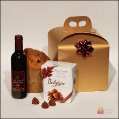 Cos cadou corporate pentru paste si craciun Christmas Delight