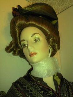 Franklin-Heirloom-Anna-The-Gibson-Girl-Roman-Holiday-doll