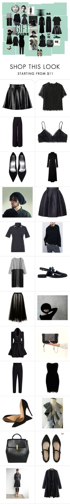 """FOR YOU"" by talma-vardi on Polyvore featuring Boohoo, Miss Selfridge, Madewell, Unravel, Orla Kiely, Mother of Pearl, Rochas, Alexander McQueen, River Island and Christian Louboutin"