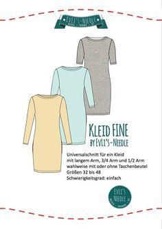 """EvLi's-Needle - Ebook Kleid """"Fine"""" Download"""