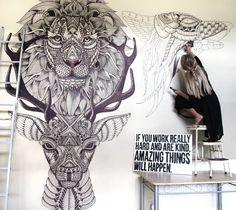 Faye Halliday Art #artpeople