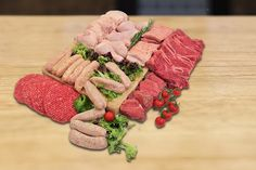 38pc Fresh BBQ Hamper from Allens of Mayfair