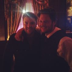 Chris Young and Blake  Photo by chrisyoungmusic