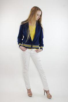 70s Cardigan Lettermans Varsity Sweater Jacket by ScarletFury, $45.00 Vintage clothing
