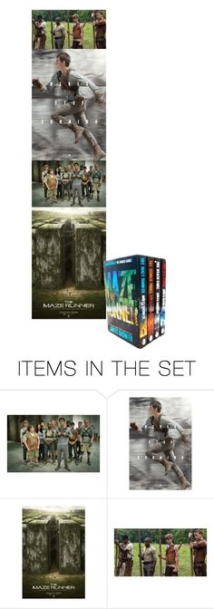 """The Maze Runner"" by hangar-knjiga ❤ liked on Polyvore featuring art and themazerunner"