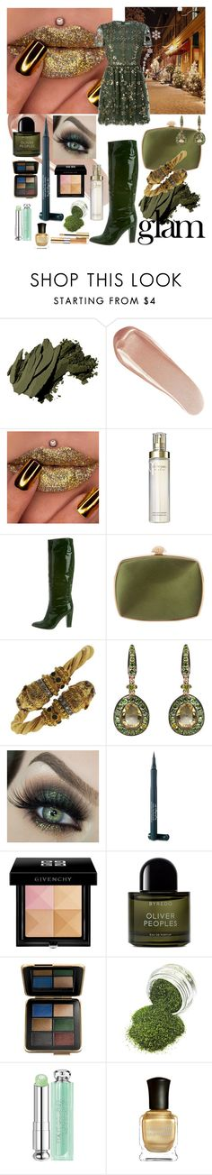 """Party Makeup"" by flippintickledinc ❤ liked on Polyvore featuring beauty, Bobbi Brown Cosmetics, NARS Cosmetics, Clé de Peau Beauté, Emilio Pucci, Judith Leiber, Lalaounis, Annoushka, Laura Geller and Givenchy"
