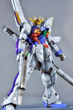 GUNDAM GUY: MG 1/100 GX-9900 Gundam X - Customized Build