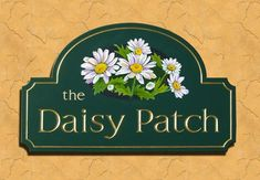 The Daisy Patch House Sign | Danthonia Designs