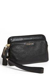 COACH 'Madison' Leather Wristlet