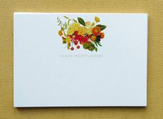 Personalised Note Cards. £19.00, from Jolly Edition, via Etsy.