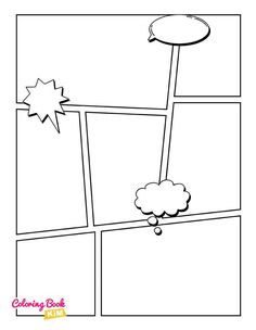 Blank comic to create great stories for children and adults. 120 pages of great and unique templates designed to meet the highest requirements of both small and large artists. The panels are arranged so that it is easy to draw both short and long stories.