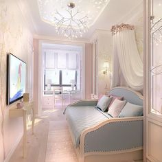 21 Beautiful Baby Girl Nursery Room Ideas Entertainment, Technology,Viral Media,News Articles and Videos Nursery Room Design, Baby Girl Nursery Room, Baby Girl Nursery Decor, White Baby Furniture, Living Decor, Girl Room, Living Room Decor, Room, Daybed Room