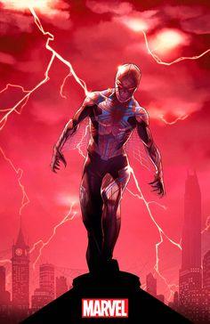 Imagen del posible traje de Spiderman