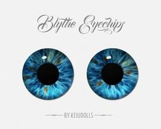 ooak art blythe & realistic eyechips by KeiuDolls on Etsy Realistic Eye Drawing, Drawing Tips, Learn Drawing, Eye Pattern, Affinity Photo, Learn To Draw, Doll Face, Blythe Dolls, How To Introduce Yourself