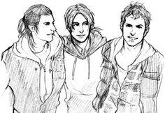 Connor, Ezio, and Altair!