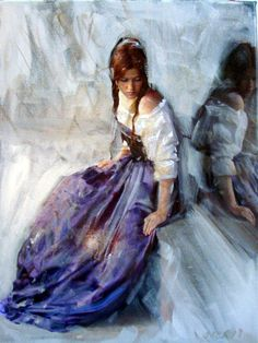 """Saatchi Online Artist: William Oxer; Acrylic, 2013, Painting """"Reflection"""""""