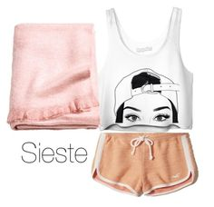 """""""Sieste"""" by fauvette56 on Polyvore featuring mode, Hollister Co. et H&M"""
