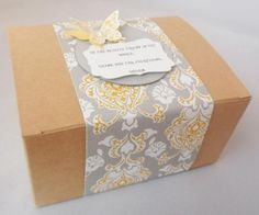 Stampin Up! Gift packaging