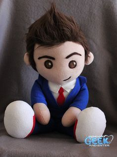Tenth Doctor plushie! =D