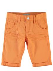 KIDS NITISAK TWILL LONG SHORTS, Bird of Paradise