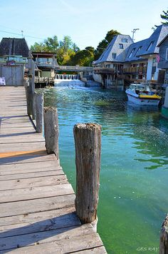 Fishtown, Leland Historic District, Michigan State, USA