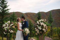 Natural Romance in Aspen on Borrowed & Blue. Photo Credit: Margot Landen