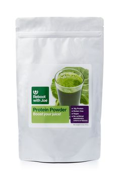 Get this! Reboot with Joe Protein Powder for Juices