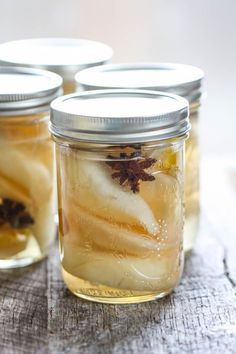 Preserved Pears with Ginger and Star Anise {Canning for Beginners}