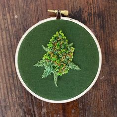 Cannabis or cannabliss? Some bud art for all you cannabis connoisseurs. These hoops are and perfect decor for any room of the house! Theyre made to order, and you get to pick the strain! Sativas, Indicas, and Hybrids—all are welcome Hand Embroidery Projects, Embroidery Stitches Tutorial, Simple Embroidery, Hand Embroidery Stitches, Hand Embroidery Designs, Cross Stitch Embroidery, Hand Stitching, Indian Embroidery, Folk Embroidery