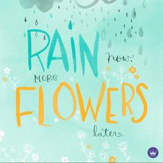 I hope nothing rains on your Spring Break plans! Hallmark Greeting Cards, All Things Cute, Online Gifts, Positive Thoughts, Word Of God, Spring Flowers, Spring Break, Hand Lettering, Positivity