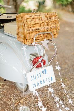 #JustMarried #Sign with #Star Trailers | On SMP Weddings - http://www.StyleMePretty.com/2014/01/06/le-grand-banc-provence-wedding/ Xavier Navarro Read More: http://www.stylemepretty.com/2014/01/06/le-grand-banc-provence-wedding/
