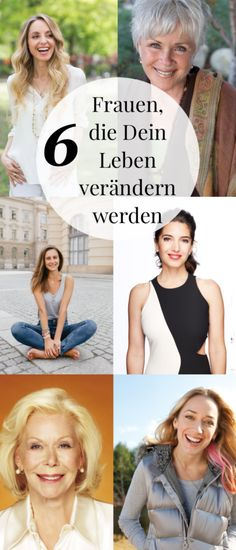 6 women who will change your life unbelievably – tips for self-discovery - Healt World Marie Forleo, Louise Hay, Byron Katie, Mental Training, Design Your Life, Self Discovery, Live Your Life, Ted Talks, Life Advice