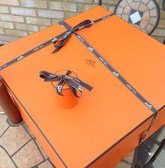 hermes purse box