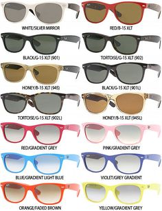 Ray Bans <3 I want every pair