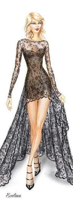 awesome Fashion Illustration... by http://www.polyvorebydana.us/fashion-sketches/fashion-illustration/