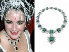 Green with Envy - Liz Taylor!