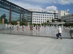 France Andre Citroen Park - water spout